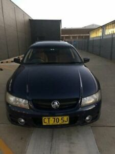 2005 Holden Commodore VZ MY05 Lumina Botany Blue 4 Speed Automatic Wagon Fyshwick South Canberra Preview