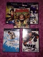 NINTENDO XBOX 360 GAMECUBE PS2 3DS VIDEO GAME SALE