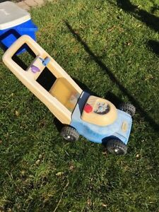 Little tikes lawnmower