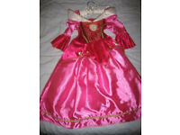 Disney Princess Dresses + others Age 4-6