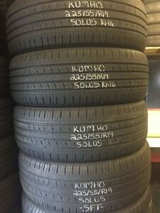 "19"" Winter USED Tires in LIKE NEW Condition!!!!!!!"