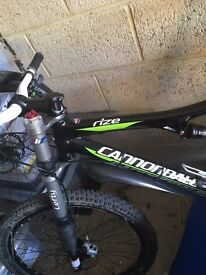 Cannondale 2010 Lefty Rize mint condition - As new supplied with owners manual and paperwork.
