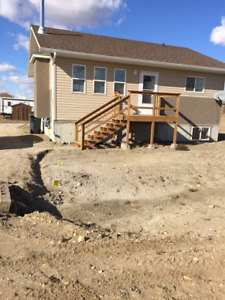 New build house for sale in Francis SK