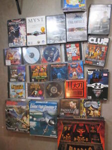 Computer Games, over 20 titles