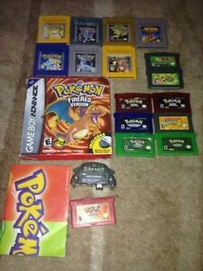 Gameboy,Color,GBA Games For sale Pokemon Ect