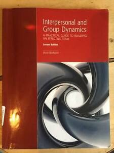 Interpersonal and Group Dynamics - A Practical Guide to Building