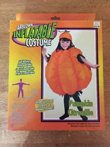 Kids Inflatable Pumpkin Costume