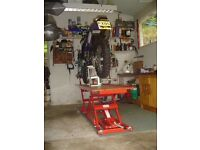 KD motorbike lift/bench