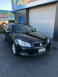 2011 Holden Epica EP MY10 CDX Black Sports Automatic Sedan Slacks Creek Logan Area Preview