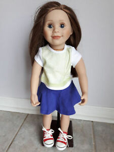 MAPLELEA CLOTHING, DOLL, BACKPACK