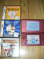 Dsi XL with 6 games for sale in Truro.