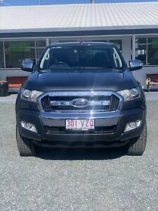 2015 Ford Ranger PX MkII XLT Double Cab Metropolitan Grey 6 Speed Sports Automatic Utility Mackay Mackay City Preview