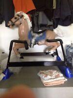 Spring rocking horse