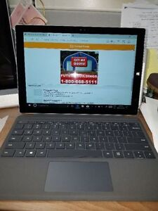MICROSOFT SURFACE PRO 3 WITH KEYBOARD