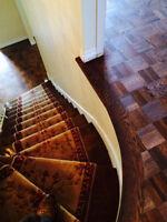 Sablage Plancher / Planchers DURATEK Flooring / Floor Sanding