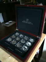 World's Most Famous Silver Coin Collection (15 total)