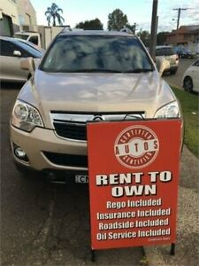 2012 Holden Captiva CG Series II 5 (FWD) Gold 6 Speed Manual Wagon Liverpool Liverpool Area Preview