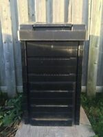 Black Compost Bin Never Been Used