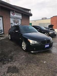 2004 BMW 5 Series 545i SMG!!! VERY RARE CAR WILL NOT LAST LONG Cambridge Kitchener Area image 5