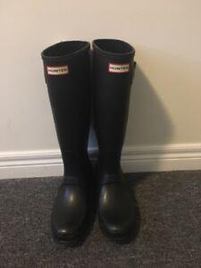 Matte HUNTER boots