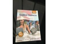 Applied business AS book