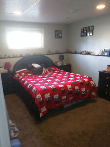 Large basement bedroom available immediately; garage included!