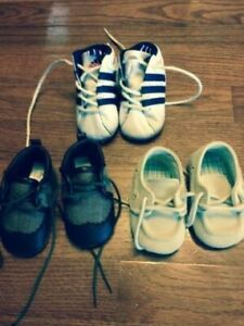 OVER TEN SHOES, SIZE NEWBORN, 2, 9, 10, 11, FOR YOUNG BOYS