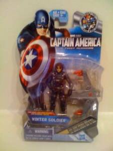 Captain America Movie 4 Inch Action Figure #04 Winter Soldier
