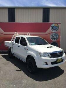 2012 Toyota Hilux KUN26R MY12 SR White 4 Speed Automatic 4D Utility Gosford Gosford Area Preview