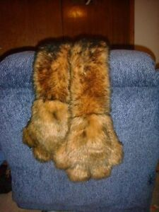 Bear Paw All In One Mitts And Scarf Perfect Winter Wear