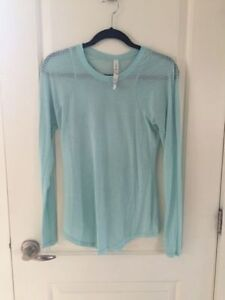Ladies Lululemon short & long sleeve shirts Size 8