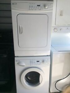 """MAYTAG Stackable Washer Dryer 24""""$ 785.00 Warranty.416 473 1859"""