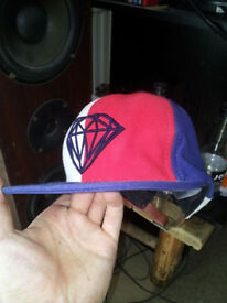 Daimond .Co Flatpeak hat ajustable
