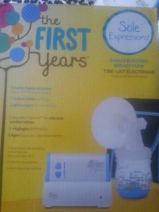 The First Year Electric Breast Pump.