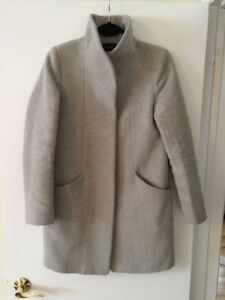 Wilfred Aritzia Cocoon Coat in Heather White XS