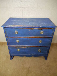 Painted Victorian Chest of Drawer