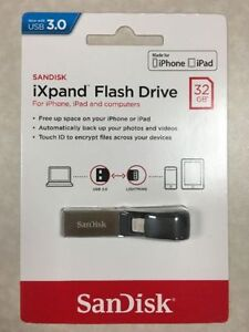 SanDisk iXpand flash drive for iPhone memory