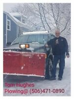 Snow Plowing Available 24/7 Call Tom Hughes at 506-471-0890