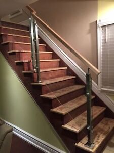 Custom Glass Railings. Manufacturing & Installation.
