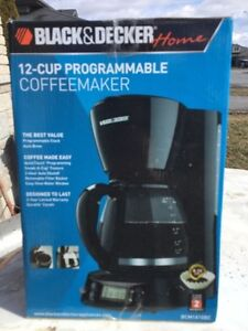 12 Cup Black and Decker Coffee Maker