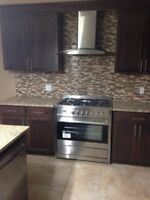 "Laminate Hardwood Kitchen Back splash  install-  ""Special Promo"""