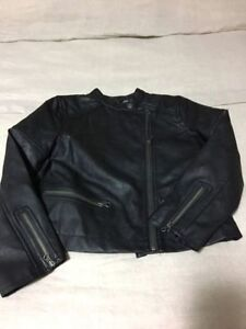 New Gap Girls Leather Jacket