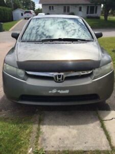 2007 Honda Civic Gris Berline