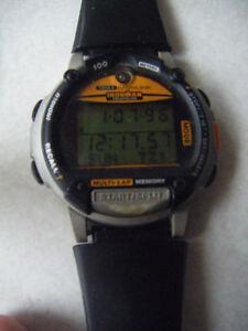 Timex IRONMAN TRIATHLON DATA LINK WATCH.    Truro