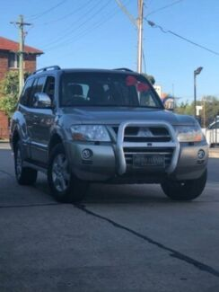2004 Mitsubishi Pajero NP Exceed LWB (4x4) Beige 5 Speed Auto Sports Mode Wagon Granville Parramatta Area Preview