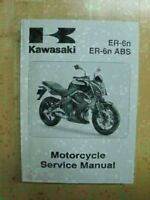 2009 Kawasaki ER-6n ABS Motorcycle Service Manual