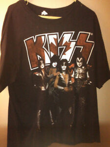KISS I WAS THERE TOUR T SIZE XL