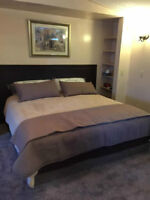 King size pillowtop mattress set - with delivery