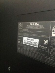 "TOSHIBA 40"" LCD 1080P HD TV with Clear Frame - 120 Hz Kingston Kingston Area image 3"