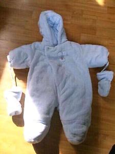 Absorba infant snowsuit